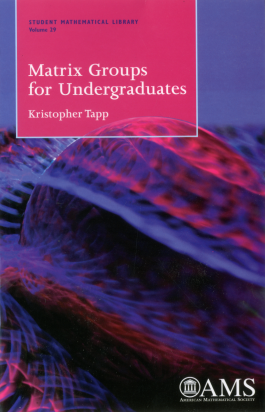Matrix Groups for Undergraduates cover image