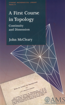 A First Course in Topology: Continuity and Dimension cover image