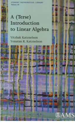 A (Terse) Introduction to Linear Algebra cover image