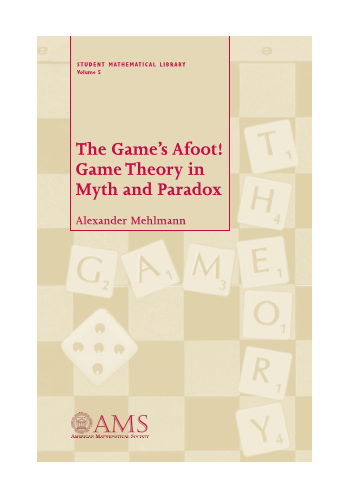 The Game's Afoot! Game Theory in Myth and Paradox cover image