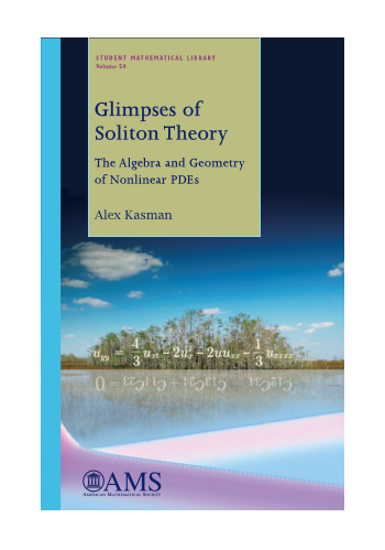Glimpses of Soliton Theory: The Algebra and Geometry of Nonlinear PDEs cover image
