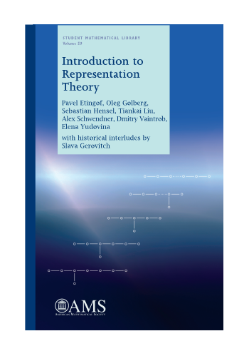 Introduction to Representation Theory cover image