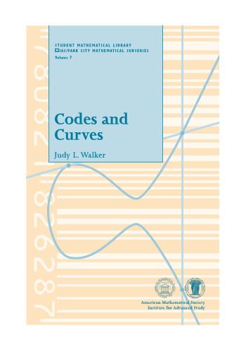 Codes and Curves cover image
