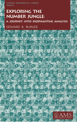 Exploring the Number Jungle: A Journey into Diophantine Analysis cover image