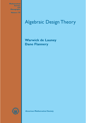 Algebraic Design Theory cover image