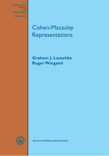 Cohen-Macaulay Representations cover image