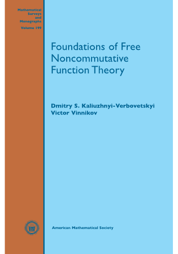 Foundations of Free Noncommutative Function Theory cover image