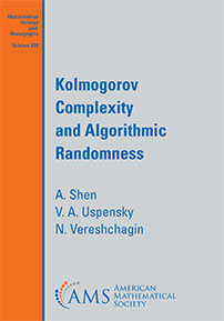 Kolmogorov Complexity and Algorithmic Randomness cover image