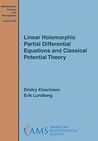 Linear Holomorphic Partial Differential Equations and Classical Potential Theory cover image