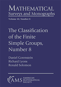 The Classification of the Finite Simple Groups, Number 8: Part III, Chapters 12-17: The Generic Case, Completed cover image