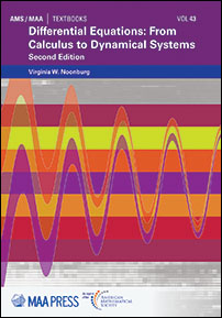 Differential Equations: From Calculus to Dynamical Systems: Second Edition cover image
