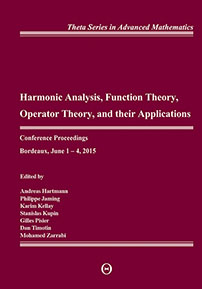 Harmonic Analysis, Function Theory, Operator Theory, and Their Applications: Conference Proceedings, Bordeaux, June 1-4, 2015 cover image