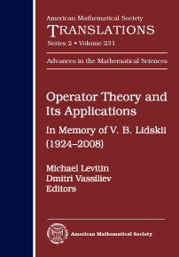 Operator Theory and Its Applications: In Memory of V. B. Lidskii (1924-2008) cover image