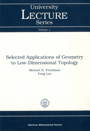Selected Applications of Geometry to Low-Dimensional Topology cover image