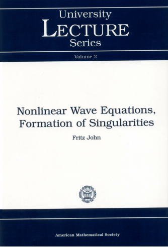 Nonlinear Wave Equations, Formation of Singularities cover image