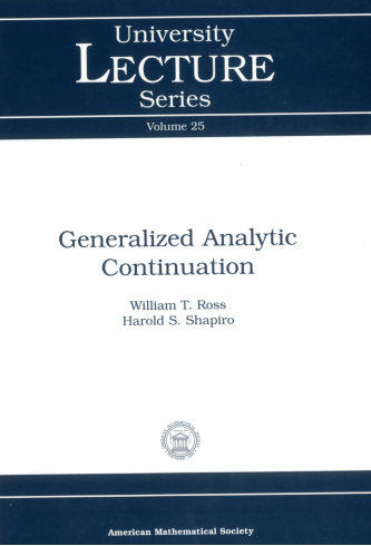 Generalized Analytic Continuation cover image