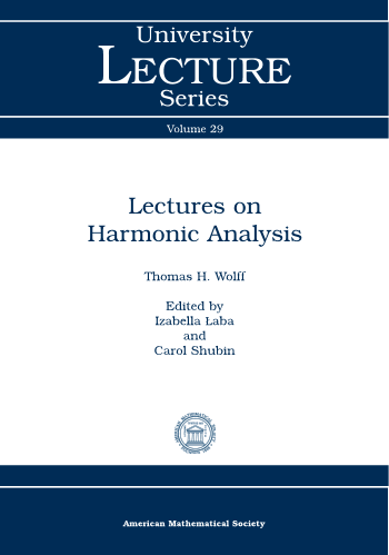 Lectures on Harmonic Analysis cover image
