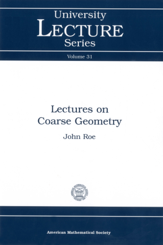 Lectures on Coarse Geometry cover image