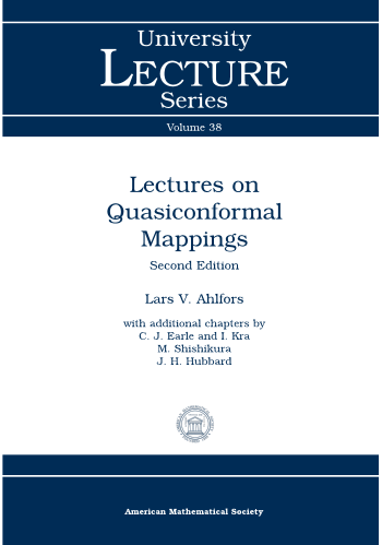 Lectures on Quasiconformal Mappings: Second Edition cover image