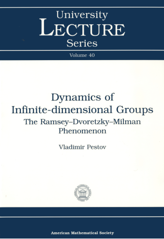 Dynamics of Infinite-dimensional Groups: The Ramsey-Dvoretzky-Milman Phenomenon cover image
