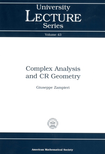Complex Analysis and CR Geometry cover image