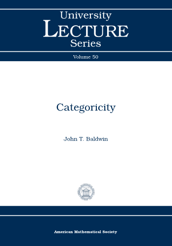 Categoricity cover image