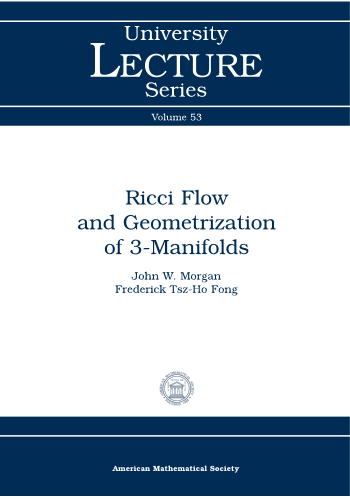 Ricci Flow and Geometrization of 3-Manifolds cover image