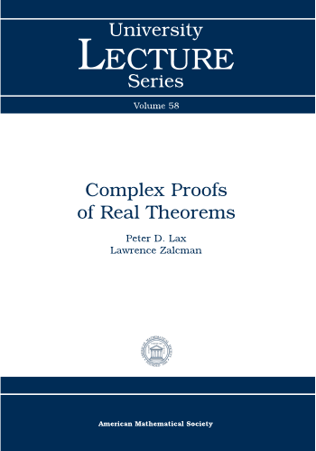 Complex Proofs of Real Theorems cover image