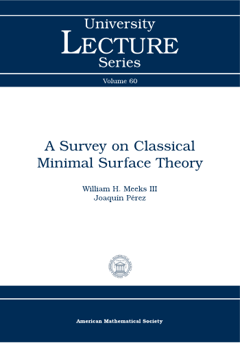 A Survey on Classical Minimal Surface Theory cover image