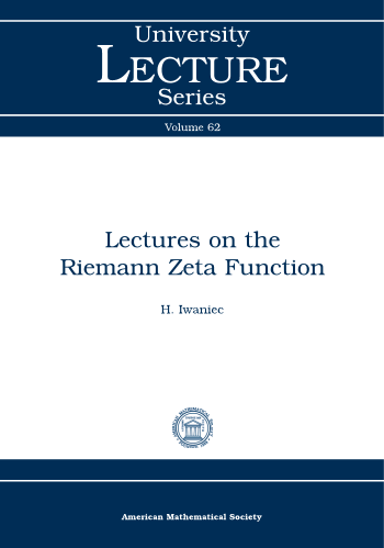 Lectures on the Riemann Zeta Function cover image