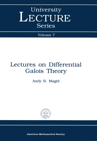 Lectures on Differential Galois Theory cover image
