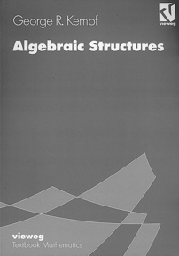 Algebraic Structures cover image